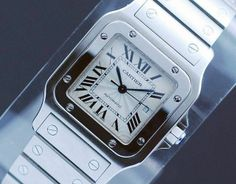 Cartier Santos Stainless Steel Automatic Men's Watch 2319 | eBay