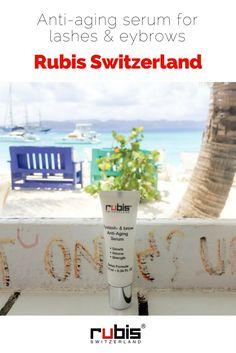 Eyelash and Eyebrow Anti-Aging Serum designed to enhance healthy eyelashes and eyebrows - Rubis Switzerland