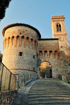 Corciano Castle Italia   by Fabio Cappellini, via 500px