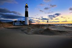 Big Sable Point Lighthouse - Ludington, Michigan, via Flickr.