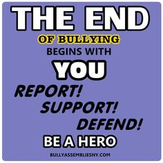 Stop bullying #bullying