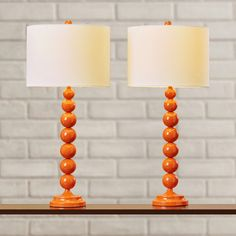 """Found it at AllModern - Oakwood 31"""" Table Lamps (Set of 2)"""