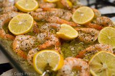 Easy Whole30 Lemon Ghee Shrimp with Herbs | Paula Goes Primal