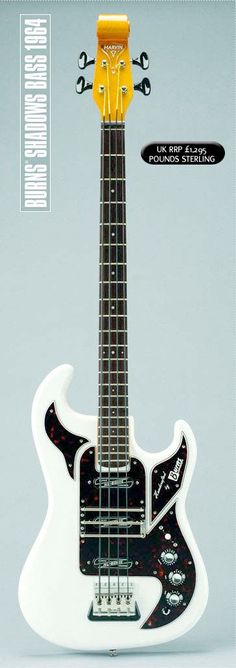 Burns Shadows Bass Guitars 1964