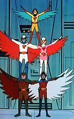 Battle of the Planets (G-Force); adapted from the Gatchaman series in Japan