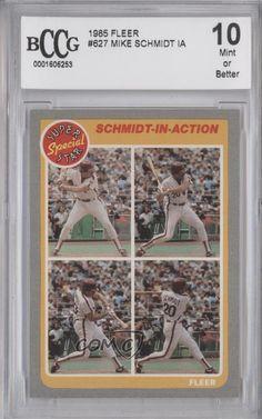 1985 Fleer #627 Mike Schmidt Philadelphia Phillies Baseball Card | Sports Mem, Cards & Fan Shop, Sports Trading Cards, Baseball Cards | eBay!