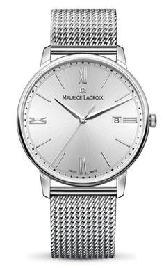 Montre Lee Cooper LC06342 540 Chronographe Bracelet Acier Milanais Argenté Cadran Marron Homme Plus d'infos