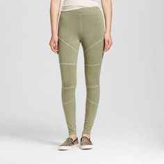 Women's Moto Legging Washed