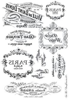 French typography You are in the right place about Decoupage kitchen Here we offer you the most beautiful pictures about the Decoupage bag you are looking for. When you examine the French typography p Decoupage Vintage, Decoupage Paper, Vintage Paper, Printable Labels, Free Printables, Foto Transfer Potch, French Typography, Etiquette Vintage, Stencil Painting