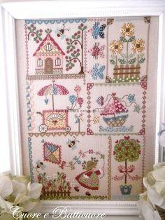 CUORE E BATTICUORE: Summer in quilt