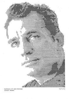 Typewritten Portraits by Álvaro Franca | iGNANT.de