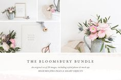 The Bloomsbury Mock up Bundle by White Hart Design Co. on @creativemarket
