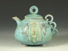 Teapot 30 Hodaka Pottery  (Sold) -  beautiful work!