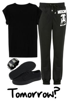 """Tomorrow's match?"" by jlol on Polyvore featuring Moschino, Bling Jewelry, Isabel Marant and Vans"