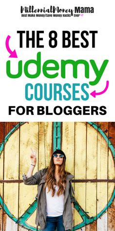 Looking to improve your blogging game? Take a look at these 8 killer courses just for bloggers. Learn how to make money blogging, get more traffic and more! Millennialmoneymama.com