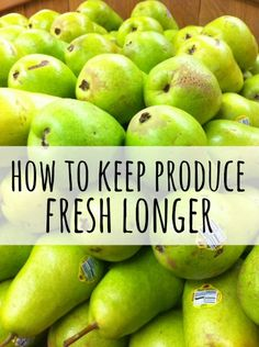 There's nothing worse than seeing a bunch of expensive produce go to waste right before you're eyes. Whether you just don't have the energy to cook it, and it goes bad, or it gets hidden behind other items and you forget about it – expired food is never a fun thing to discover. Here are a bunch of ways that will help you to keep produce fresh longer..