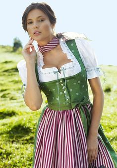 They say a Dirndl is the purr-fect outfit for every female shape...
