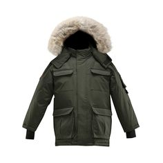 Triple F.A.T. Goose Chenega Boys Hooded Goose Down Arctic Parka with Real Coyote Fur   THE FABRIC The outer layer of the goose down arctic jacket features a performance 10,000 mm Read  more http://shopkids.ca/triple-f-a-t-goose-chenega-boys-hooded-goose-down-arctic-parka-with-real-coyote-fur/