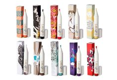 laqa & co: cosmetics line featuring young artists' work on the packaging. Artists also receive a profit share of each product sold
