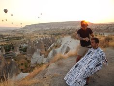 Meet The 'Nomad Barber' Who Travels The World Giving Haircuts - #MiguelGutierrez, #NomadBarber