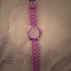 Lacoste watch. Lacoste purple watch, never worn before. Box is missing. Lacoste Accessories Watches