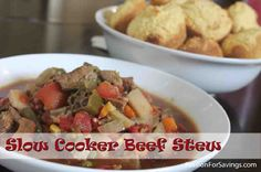 Easy Slow Cooker Beef Stew Recipe, Perfect for Fall!