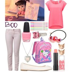 """""""Monsters Inc: Boo"""" by cristianoronaldostar on Polyvore"""