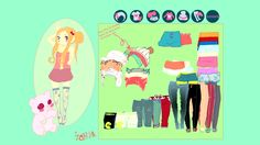 mega cute avatar dress up game