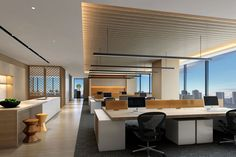 Buying Very Cheap Office Furniture Correctly Corporate Interior Design, Interior Design Presentation, Corporate Interiors, Office Interiors, Modern Office Design, Workspace Design, Office Workspace, Office Ceiling, Luxury Office