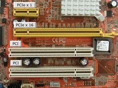 """PCI EXPRESS Estos dispositivos pueden ser circuitos integrados ajustados en ésta (los llamados """"dispositivos planares"""" en la especificación PCI) o tarjetas de expansión que se ajustan en conectores."""