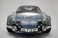 The Alpine is a classic exercise in giant-slaying. The sumptuously curvaceous Dieppe-built poppet derives forward motion from a dimin. Classic European Cars, Classic Cars, Classic Style, Sports Day Fun, Megane Rs, Alpine Renault, Automobile, Bike Photo, Rally Car