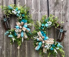 Spring Wreaths Double Door Wreath House Warming Gift Front Grapevine Summer Hydrangea