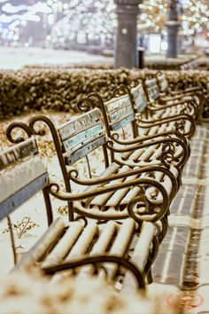Wishbone Chair, Outdoor Furniture, Outdoor Decor, Hungary, Bench, Winter, Home Decor, Winter Time, Decoration Home