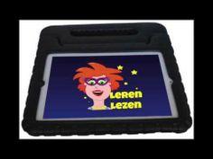 Kiddipad Cover iPadbesscherming tegen vallen en stoten. Lees over deze hoes op mijn website en bekijk mijn filmpje van de iPadbeschermer.