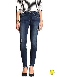 Banana Republic Top with cute jeans