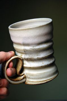 Ralph Nuara - Stoneware mug, love the size! Texture looks lovely.