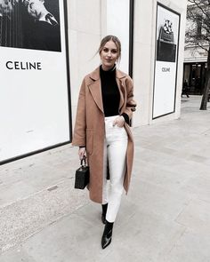Winter outfit Happy Monday from me and my camel coat 🐪 Shop my look on the app 🔎 you can find similar pins below. We have brought the b. Mode Outfits, Casual Outfits, Fashion Outfits, Classy Outfits, Women's Fashion, Latest Fashion, Fashion Coat, Fashion Trends, Ethical Fashion