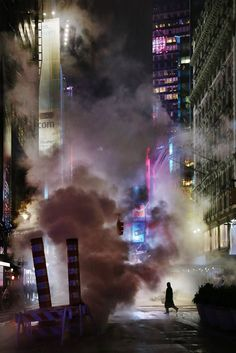 Men In Smoke by Christophe Jacrot - The Best Photos and Videos of New York City including the Statue of Liberty, Brooklyn Bridge, Central Park, Empire State Building, Chrysler Building and other popular New York places and attractions.