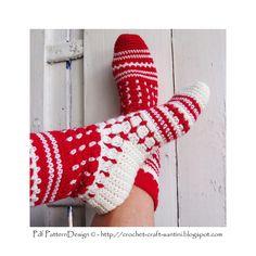 Ravelry: Norwegian style Tall Socks by Sophie and Me-Ingunn Santini