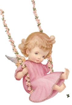 Angelitos Vintage, angelitos, ángeles, ángel,