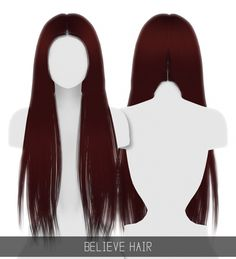 BELIEVE HAIR at Simpliciaty • Sims 4 Updates