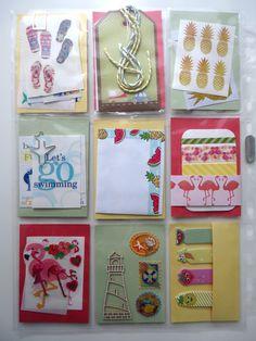To Sheryll (back) - Summer - Pocket letter 48