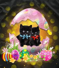 My Little Nieces, Bat Signal, Happy Easter, Superhero Logos, Cute Cats, Kawaii, Disney Characters, Illustration, Collection