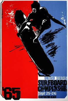 Size- Surfing 65 Vintage Surf wall Home Poster Print Art - Surf Design, Logo Design, Web Design, Graphic Design, Surf Vintage, Vintage Surfing, Vintage Style, Poster Surf, Surf Posters