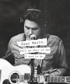dear marie - john mayer : can't wait for his new album and this song!