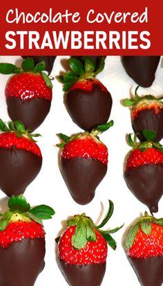 Best Chocolate, Delicious Chocolate, Chocolate Recipes, Chocolate Dipped, Elegant Desserts, Fun Desserts, Delicious Desserts, Best Dessert Recipes, Healthy Recipes