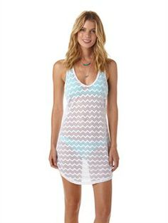Strappy Gauze Cover-up by Roxy