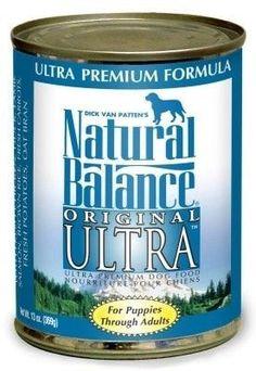 NA DOG CAN - ULTRA PREMIUM DOG CAN 12/13OZ - **ULTRA PREMIUM FORMULA - NATURAL BALANCE PET FOODS - UPC: 723633012652 - DEPT: NATURAL BALANCE