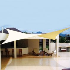 We are thinking of tackling a deck this summer (or maybe next). Cool shade covering right?