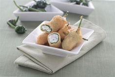 Pimientos Del Padrón Rellenos De Philadelphia. Recetas, Gastronomía, Food, Gastronomy, Recipes...